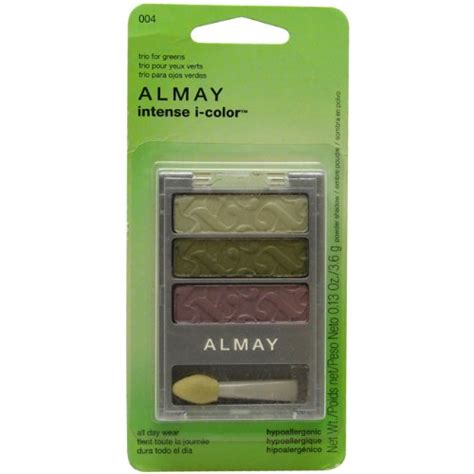 almay i color almay i color powder shadow trio for greens for