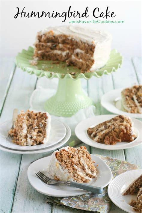 classic 3 layer hummingbird cake favesouthernrecipes com
