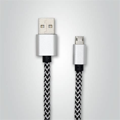 Kabel Data Charger Braided Iphone Dap Dbl 100 24a Quality 30 vbest oem 1 2 m dubbelzijdig micro usb opladen gevlochten kabel datakabels product id