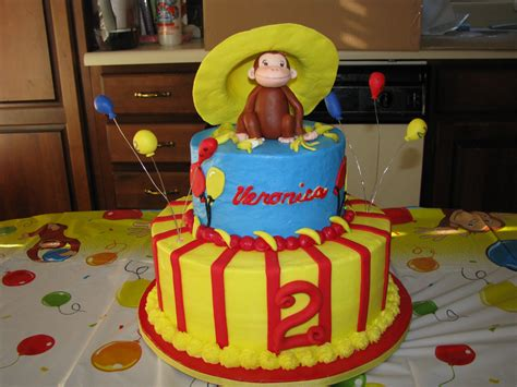 Curious George Cake Decorations by This Is An Easy Way To Make Curious George Birthday Cakes
