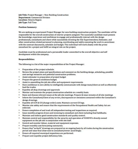 project coordinator description template project description exle f resume