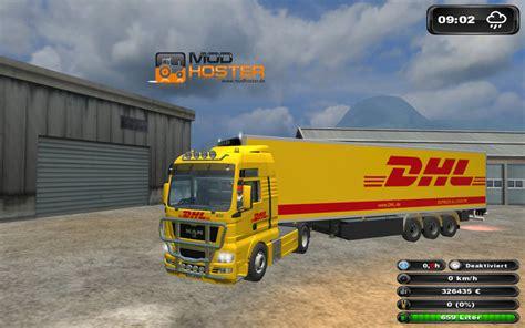dhl wagen ls 2011 dhl truck trailer pack v 2 0 mod packs mod f 252 r