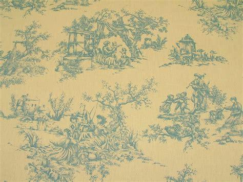 toile de jouy curtains uk designer w wood blue cream toile de jouy 100 cotton