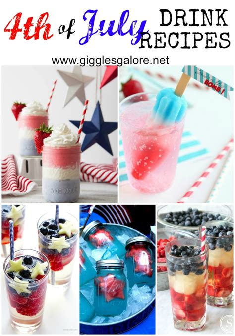 4th of july drink recipes