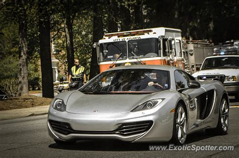 mclaren mp4 12c spotted in atlanta on 04 17 2014