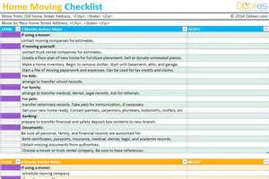 Moving Company Business Plan Template by To Do List Templates Dotxes