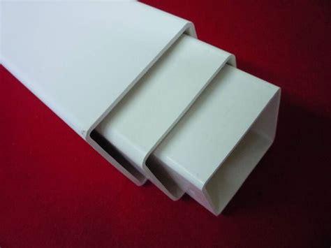 plastic square tube