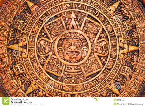 Calendrier Aztec Aztec Calendar Stock Image Image Of Detailed Cultures