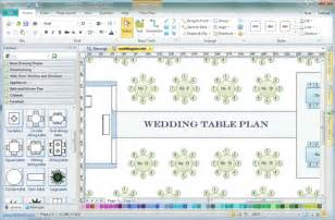 Wedding Table Planner Template Table Plan Software