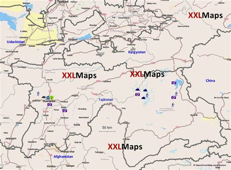 tajikistan map 100 tajikistan map products early warning and environmental monitoring program world map