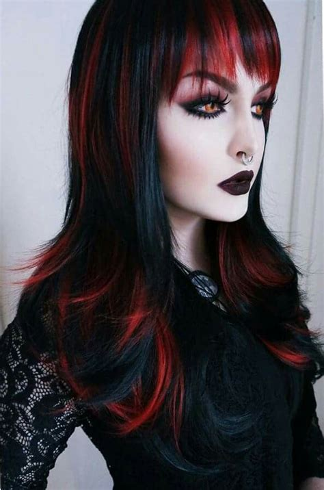 old goth bangs hairstyle 25 best ideas about gothic hairstyles on pinterest