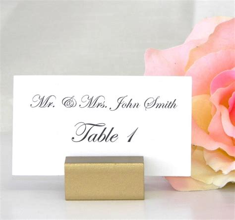 place card holder ideas 17 best ideas about place card holders on place cards wedding place cards and