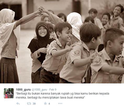 Guru Dan Teaching traveling and teaching 1000 guru malang beri kami 1000