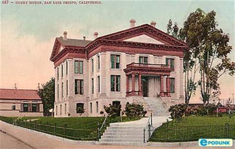 San Luis Obispo Court Records The San Luis Obispo County Gene