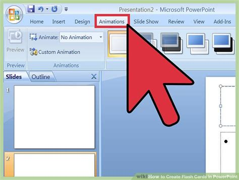 flash card maker from powerpoint how to create flash cards in powerpoint with pictures