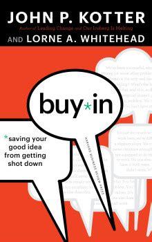 buy in kotter international - Kotter Buy In