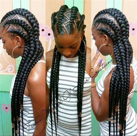 big cornrow hairstyles for black women with bangs 31 cornrow styles to copy for summer page 3 of 3 stayglam