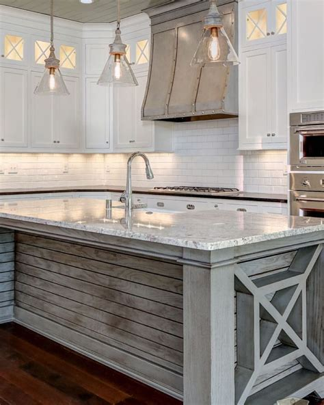 white kitchen wood island islands woods and hoods on pinterest