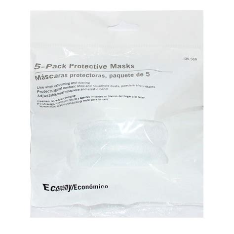 Masker Naturgo Per Pack nuisance mask 5 per pack e101w the home depot