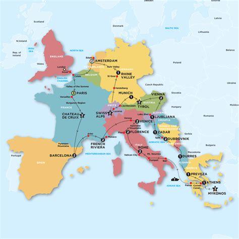 europe tours spain morocco portugal europe contiki map of spain and italy imsa kolese