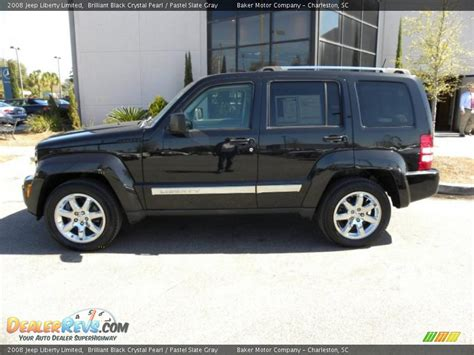 2008 Jeep Liberty Limited 2008 Jeep Liberty Limited Brilliant Black Pearl