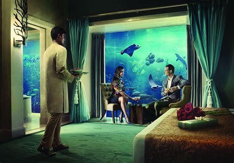 atlantis bahamas underwater rooms suite of the week the underwater suites at atlantis the palm dubai