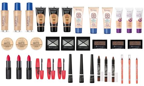 Offers For You Lipstick Powder N Paint by 3 Pack Of Rimmel Makeup Products Groupon Goods