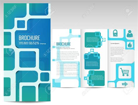 quad fold brochure template professional sles templates