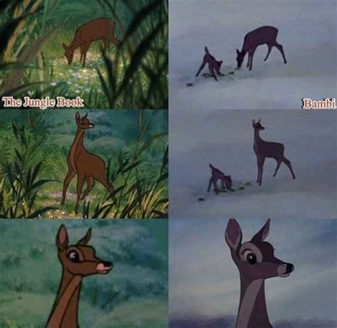 libro hidden bodies bambi s mother makes a quick cameo in the jungle book as shere khan s prey disney 22 and mom