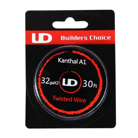 Ud Kanthal A1 26 Ga 30feet Youde Kanthal A1 26 Awg Authentic ud kanthal a1 twisted wire 32gax2 30ft nella categoria ud youde technoligy soluzione smoke