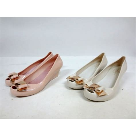 Wedges Jelly Shoes Vivienne Weswood vivienne westwood jelly wedges murah mirajane oshop