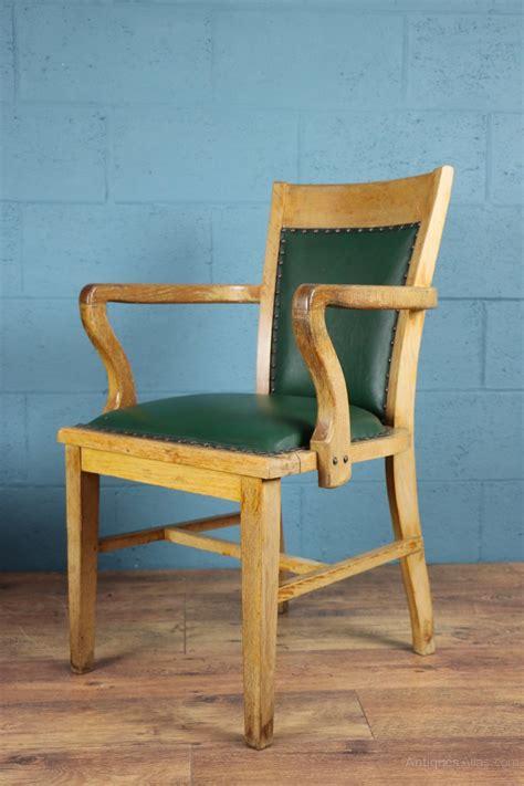 oak desk chair 1930s oak desk chair antiques atlas