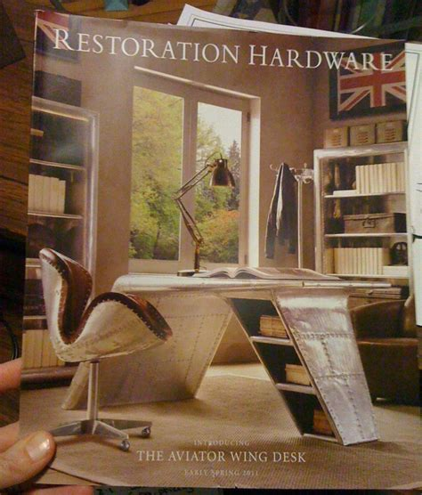 aviator desk chair restoration hardware aviator wing desk roselawnlutheran
