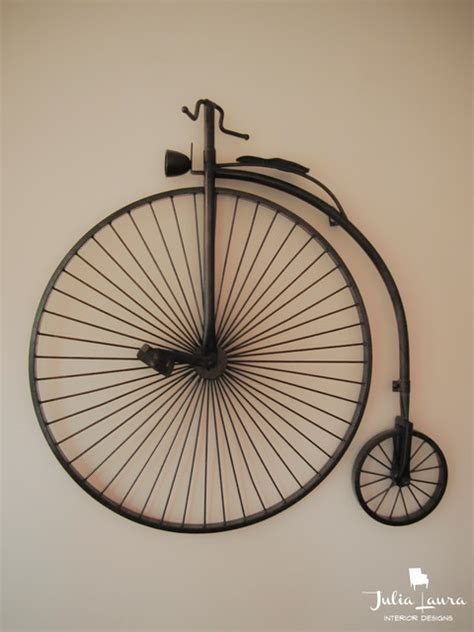 Children Vanity Set Bicycle Wall Art Traditional Indianapolis By Julia