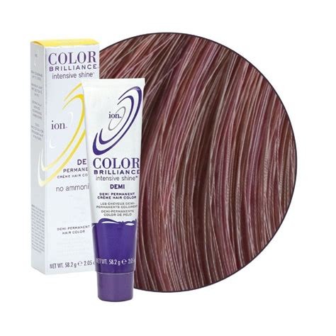 ion colors ion demi permanent hair color chart brown hairs of