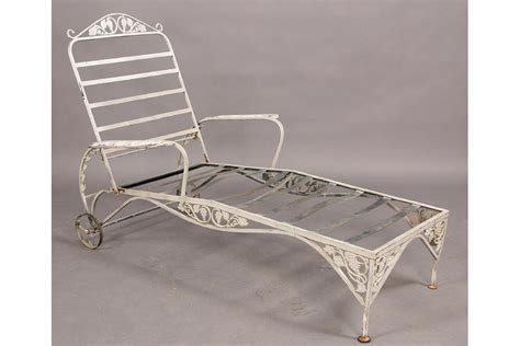 vintage wrought iron chaise lounge vintage wrought iron mixed patio set couch lounge
