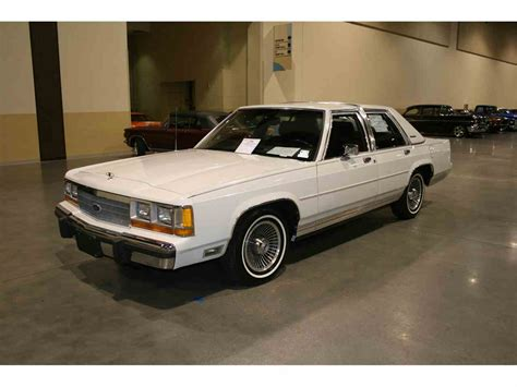 manual cars for sale 1988 ford ltd crown victoria electronic throttle control 1988 ford ltd crown victoria lx for sale classiccars com cc 1028401