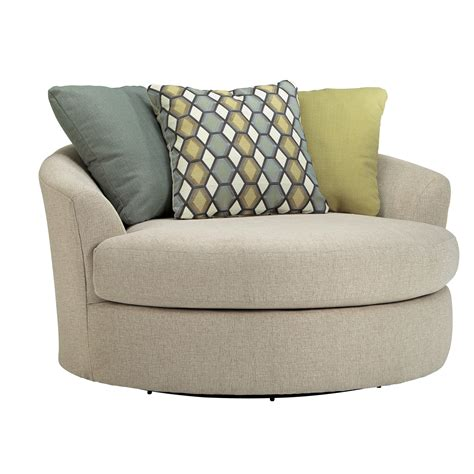 Latitude Run Bradfield Oversized Swivel Barrel Chair Barrel Chair Swivel
