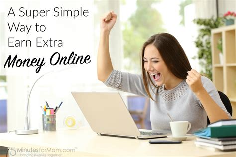 Make Extra Money Online - a super simple way to earn money online