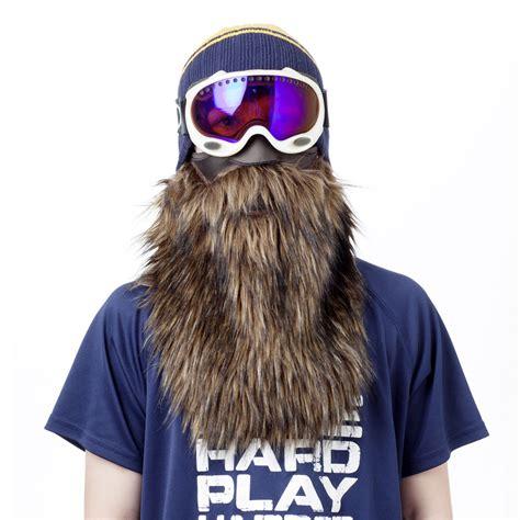 Masker Motor Sky beardski bearded ski mask the green