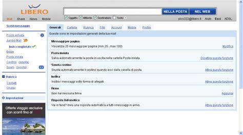 librero mail eliminare l account libero cancellare il profilo libero