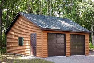 Free 2 Car Garage Plans by Buy A Two Car Garage Building Direct From Pa