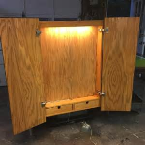 how to build a dart board cabinet dartboard cabinet size cabinets matttroy