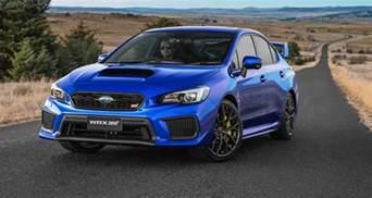 Subaru Sti Weight 2018 Subaru Wrx Wrx Sti Pricing And Specs Tweaked Looks