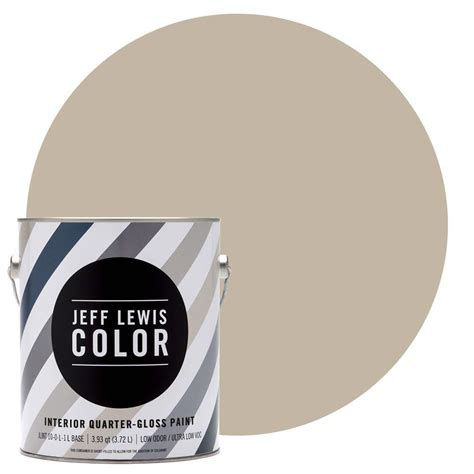 jeff lewis color 1 gal jlc214 quarry quarter gloss ultra low voc interior paint 301214 the
