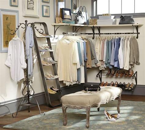 Closet Nyc new york closet shoe ladder pottery barn