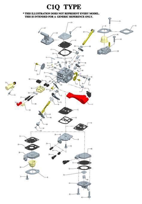 zama c1q carb diagram zama c1q carburetor diagram car interior design