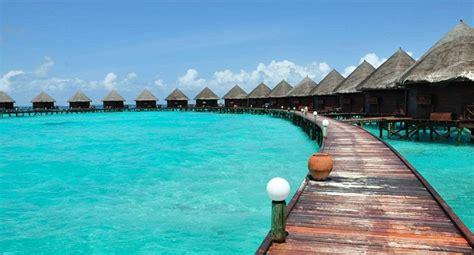imagenes vacaciones en el mar hoteles con caba 241 as sobre el agua en las maldivas