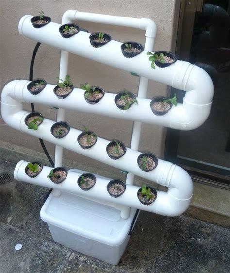 Pvc Garden Ideas Pvc Balcony Vertical Garden Huerto Hidroponia Etc