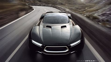 lincoln supercar ford displays two mad max interceptor concepts in